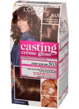 Casting Creme Gloss صبغة شعر كاستينج شكولاته مذهب 503