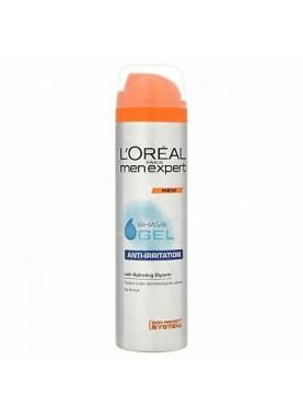 لوريال جل حلاقة مضاد لنهيج البشرة 200ملL'Oreal Men Expert Anti-Irritation Shave Gel 200ml 284