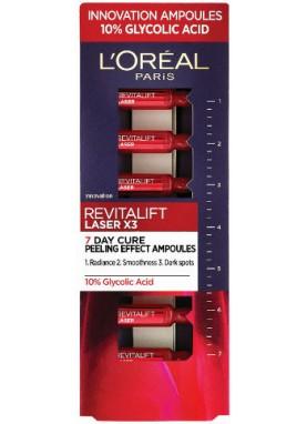لوريال باريس ريفايتليفت ليزر امبولات لتقشير البشرة ليليRevitalift Laser Ampoules 770