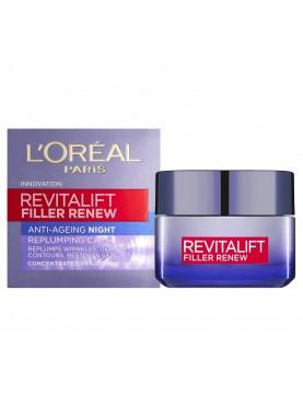 Revitalift Filler  Anti Age Night Cream ريفيتا ليفت كريم ليل بشرة ضد التجاعيد  303