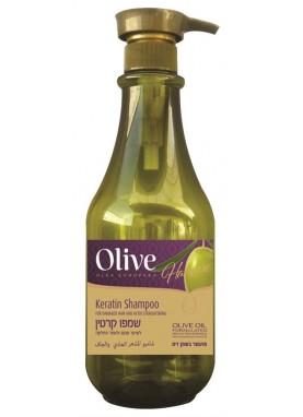 اوليف شامبو كيراتين للشعر العادي والجاف 800مل Olive Shampoo Keratin