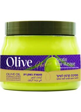اوليف ماسك كيراتين للشعر للشعر العادي والجاف 500مل Olive Hair Masque keratin