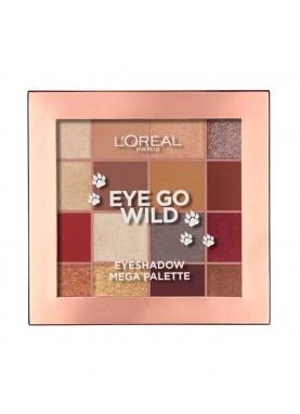 لوريال علبة الوان اي شدو Eye Go Wild Eyeshadow Palette 449