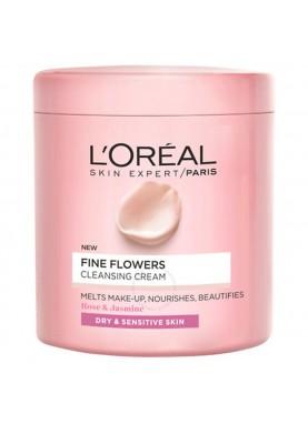لوريال جل لتنظيف الوجة 200ملللبشرة الجافة والحساسةبخلاصة الزهور 473