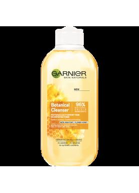 جارنير ماء مزيل مكياج بالعسل  لجميع انواع البشرة Nourishing Botanic Cleansing Toner Honey