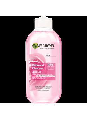 جارنير ماء مزيل مكياج بماء الوردللبشرة الجافة والحساسة BOTANICAL CLEANSING Toner ROSE