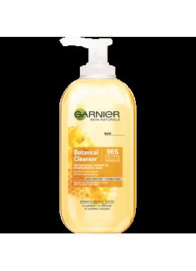 جارنير جل غسول منظف للوجة للبشرة الجافة بخلاصة العسل 200مل Garnier Naturals Honey Gel Wash 200ml 702