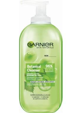 جارنير جل غسول منظف للوجة للبشرة العادية والمختلطة بخلاصة العنبب 200مل   Naturals Grape Gel 804796