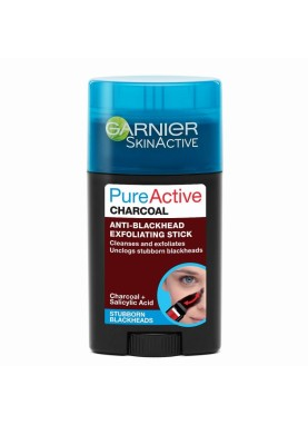 جارنير بيور فحم لتنظيف البشرة  Garnier Pure Active Charcoal Anti-Blackhead Stick 50ml 024