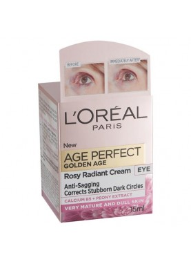 لوريال ايج بيرفيكت كريم عينAge Perfect Golden Age Rosy Re-fortifying Eye Cream 597