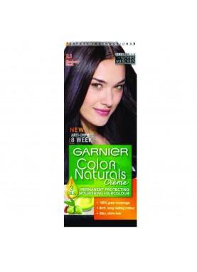 Garnier color naturals 2.10 صبغة شعر جارنير تيوب (أسود مزرق)
