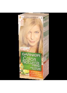 garnier color naturals 9 صبغة شعر جارنير تيوب (أشقر فاتح جداً)