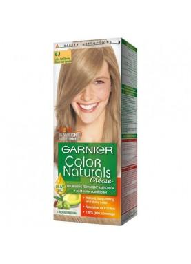 garnier color naturals 8.1 صبغة شعر جارنير تيوب (أشقر نحاسي)