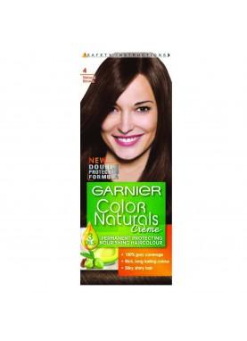 garnier color naturals 4 صبغة شعر جارنير تيوب (بني)