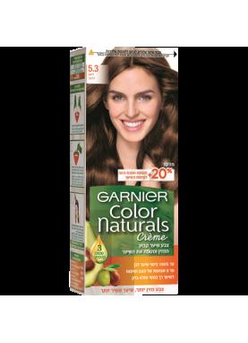 garnier color naturals 5.3 صبغة شعر جارنير تيوب (بني ذهبي)