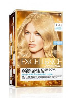 Loreal Excellence crème Intense صبغة اكسيلنس انتنيس للشعر رقم 120 (أشفر فاتح جداً)