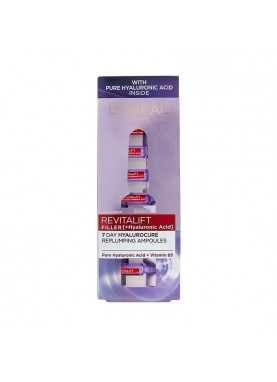 لوريال باريس ريفيتاليفت فيلر أمبولات المضادة للشيخوخةRevitalift Filler Replumping Ampoules 7 982