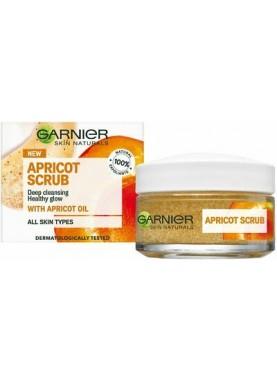 جارنير ماسك مشمش مقشر للوجة 50ملGarnier Skin Naturals Apricot Scrub 50 ml 418