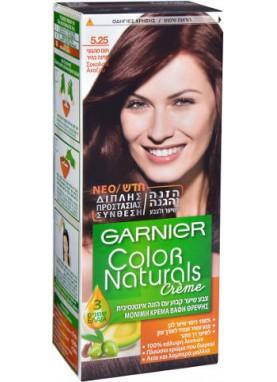 garnier color naturals 5.25 صبغة شعر جارنير تيوب (بني ماهجوني)