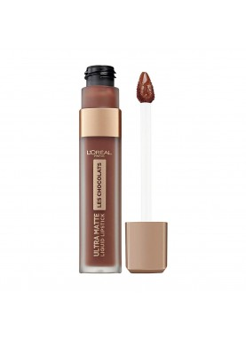لوريال باريس احمر شفاه شوكلاتس مات  858 LOreal  Les Chocolats Ultra Matte Liquid Lipstick 837