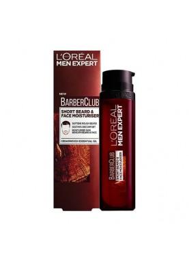 لوريال كريم مرطب للحية والشعر 50مل L'Oreal Barber Club Short Beard & Face Moisturiser 50mL 208