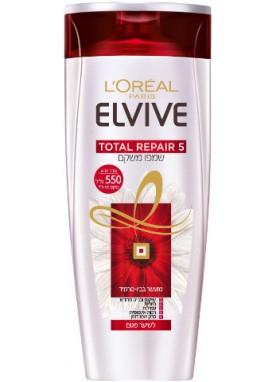 لوريال الفيف شامبو لاصلاح الشعر للشعر الضعيف 550مل 887  Total Repair