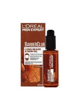 لوريال زيت للبشرة واللحية 30ملL'Oreal Barber Club Long Beard & Skin Oil 30ml 062