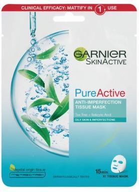 جارنير قناع الترطيب للوجه بيور اكتيف Garnier Pure Active Face Mask 896
