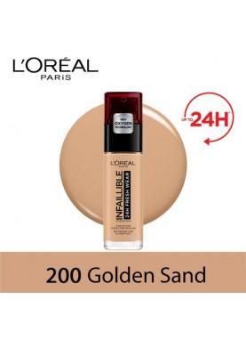 لوريال ميك اب انفالابيل 200 فريش ويرGolden Sand 509