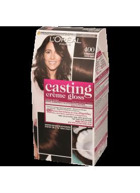 Casting Creme Gloss صبغة شعر كاستينج بني غامق 400