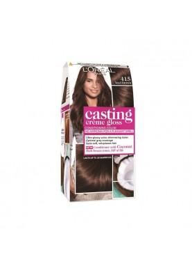 Casting Creme Gloss صبغة شعر كاستينج شوكلاته بارد 415