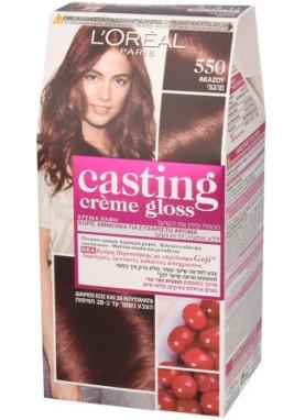 Casting Creme Gloss صبغة شعر كاستينج ماهجوني 550