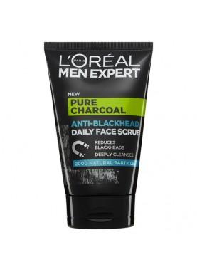 لوريال جل فحم مضاد للرؤس السوداء 100ملL'Oréal Men Expert Pure Power Daily Charcoal Wash 000
