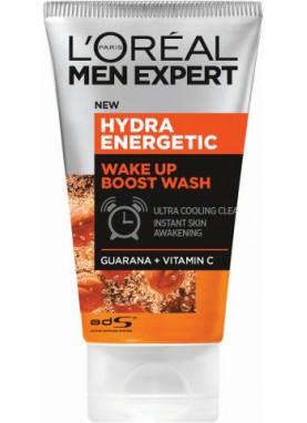 لوريال جل منظف ومنشط  للبشرة 100ملL'Oréal Men Expert Hydra Energetic Wash 100 ml 214