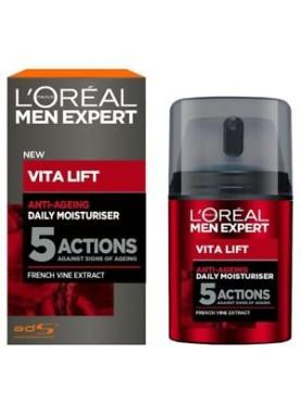 لوريال فيتاليفت مرطب ضد الشيخوخة والتجاعيد 50ملL'Oreal Men Expert Vita Lift 5 Anti Ageing 605