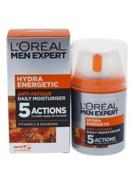 لوريال كريم ترطيب يومي 50ملL'Oreal Men Hydra Energetic Anti-fatigue Lotion 262