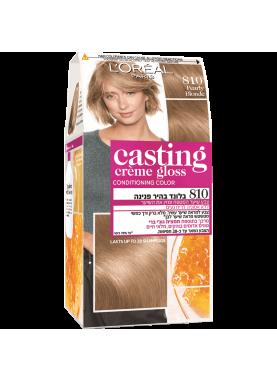 Casting Creme Gloss صبغة شعر كاستينج اشقر فاتح لؤلؤي 810