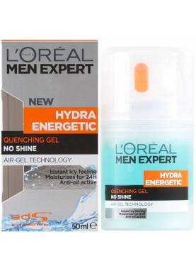 لوريال جل مرطب ومنعش للبشرة 50ملL'Oreal Men Expert new Hydra Energetic Quenching Gel 200