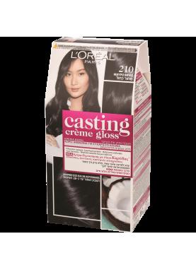 Casting Creme Gloss صبغة شعر كاستينج اسود مزرق 210