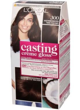 Casting Creme Gloss صبغة شعر كاستينج بني غانق جدا 300