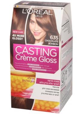 Casting Creme Gloss صبغة شعر كاستينج بني شكولاته 635