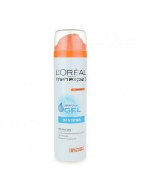 لوريال جل حلاقة مضاد للحساسية 200ملL'Oreal Paris Men Expert Sensitive Shave Gel 200ml 936